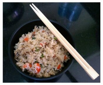 Mushroom Fried Rice - Plattershare - Recipes, Food Stories And Food Enthusiasts