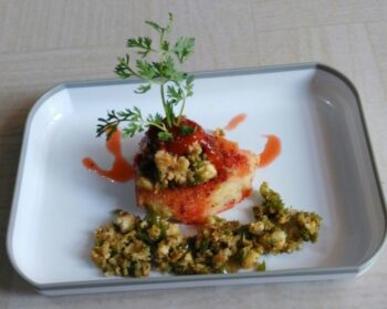 Mushroom With Chilli Tomato Sauce - Plattershare - Recipes, Food Stories And Food Enthusiasts