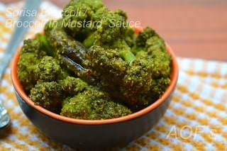Sarson Broccoli ( Broccoli In Mustard Paste ) - Plattershare - Recipes, Food Stories And Food Enthusiasts