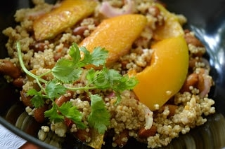 Pumpkin Kidney Beans And Quinoa Salad - Plattershare - Recipes, Food Stories And Food Enthusiasts