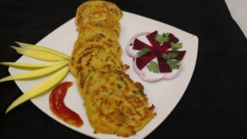 Healthy Carrot Pancakes - Plattershare - Recipes, Food Stories And Food Enthusiasts