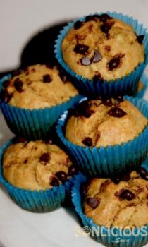 Whole Wheat Banana Muffins - Plattershare - Recipes, Food Stories And Food Enthusiasts