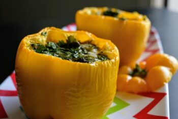 Baked Stuffed Bell Peppers - Plattershare - Recipes, Food Stories And Food Enthusiasts