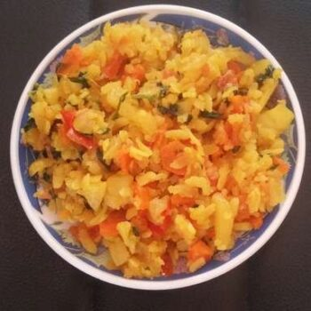 Flattened Rice Khichdi - Plattershare - Recipes, Food Stories And Food Enthusiasts