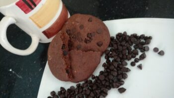 1 Min Microwave Cookies - Plattershare - Recipes, Food Stories And Food Enthusiasts