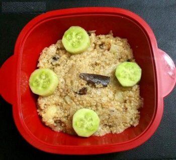 Sorghum Ravva Biryani - Plattershare - Recipes, Food Stories And Food Enthusiasts