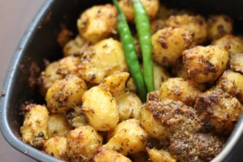 Masala Baby Potatoes - Plattershare - Recipes, Food Stories And Food Enthusiasts