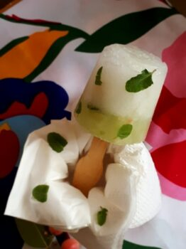 Litchi N Cucumber Popsicle - Plattershare - Recipes, Food Stories And Food Enthusiasts