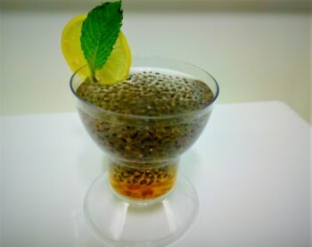 Chia Coconut Summer Cooler - Plattershare - Recipes, Food Stories And Food Enthusiasts