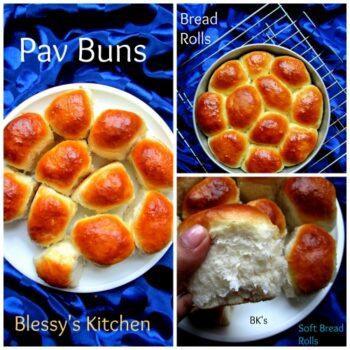 Bread Rolls/ Fresh Bread Rolls/Eggless Bread Rolls/ Soft Bread Rolls/ Dinner Rolls/ Pav Buns - Plattershare - Recipes, Food Stories And Food Enthusiasts