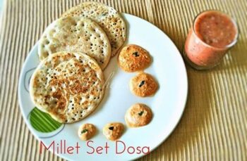 Multi Millet Set Dosa Using Farmz2Familiez Dosa Batter - Plattershare - Recipes, Food Stories And Food Enthusiasts