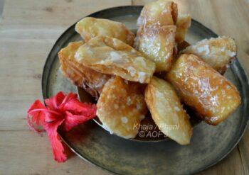 Khaja (Mahaprasad From Jaganaath Dham) - Plattershare - Recipes, Food Stories And Food Enthusiasts