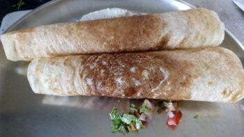 Egg Dosa Roll Using Millet Batter - Plattershare - Recipes, Food Stories And Food Enthusiasts