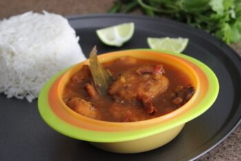 Assamese Bilahi Boror Tenga (Sour Curry With Red Lentil Fritters) - Plattershare - Recipes, Food Stories And Food Enthusiasts