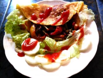 French Omelette - Plattershare - Recipes, Food Stories And Food Enthusiasts