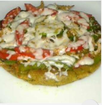 Kothimbir Vadi Pizza - Plattershare - Recipes, Food Stories And Food Enthusiasts