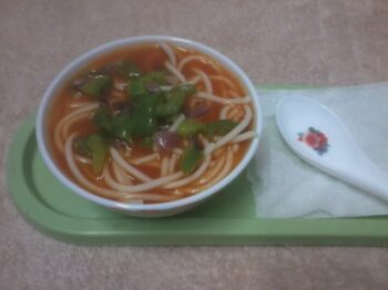 Tomato Noodle Soup - Plattershare - Recipes, Food Stories And Food Enthusiasts