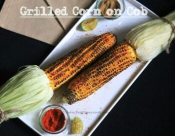 Grilled Corn On Cob With Chili-Lime-Butter - Plattershare - Recipes, Food Stories And Food Enthusiasts
