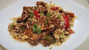 Vegan Jackfruit Fried Rice - Plattershare - Recipes, Food Stories And Food Enthusiasts