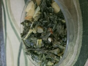 Gobhi Ke Patte (Cauliflower Greens) Stir Fry - Plattershare - Recipes, Food Stories And Food Enthusiasts