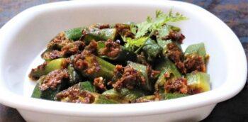 Bhindi Masala - Plattershare - Recipes, Food Stories And Food Enthusiasts