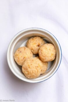 Soft, Flavorful And Melt-In Coconut Balls Without Condensed Milk Or Khoya - Plattershare - Recipes, Food Stories And Food Enthusiasts