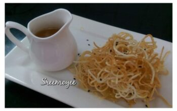 Crispy Honey Noodles - Plattershare - Recipes, Food Stories And Food Enthusiasts