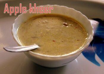 Apple Kheer - Plattershare - Recipes, Food Stories And Food Enthusiasts