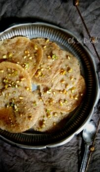Baked Vermicelli Malpua - Plattershare - Recipes, Food Stories And Food Enthusiasts