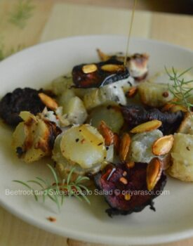Beetroot And Sweet Potato Salad - Plattershare - Recipes, Food Stories And Food Enthusiasts