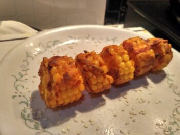 Airfried Corn Discs - Plattershare - Recipes, Food Stories And Food Enthusiasts