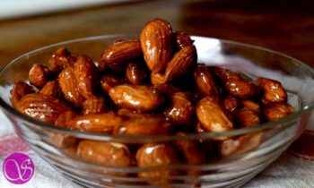 How To Make Quick And Easy Honey Glazed Almonds - Plattershare - Recipes, Food Stories And Food Enthusiasts