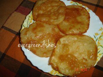 Badam Puri - Plattershare - Recipes, Food Stories And Food Enthusiasts