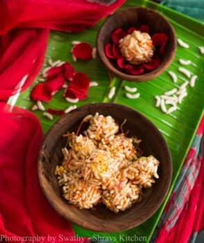 Honey Pori Urundai - Plattershare - Recipes, Food Stories And Food Enthusiasts