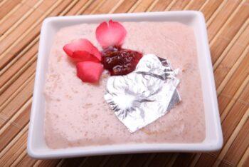 Honey Gulkand Phirni - Plattershare - Recipes, Food Stories And Food Enthusiasts