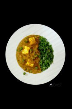 Paneer Peas Masala - Plattershare - Recipes, Food Stories And Food Enthusiasts