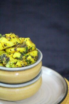Aloo Jeera (Dry Cumin Potato Curry) - Plattershare - Recipes, Food Stories And Food Enthusiasts