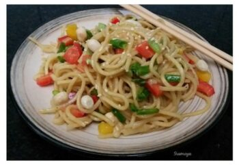 Crunchy Noodle Salad - Plattershare - Recipes, Food Stories And Food Enthusiasts