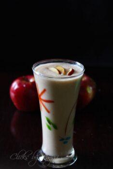 Apple Dates Milkshake Recipe - Plattershare - Recipes, Food Stories And Food Enthusiasts