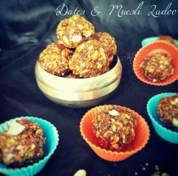 How To Make Ladoos With 2 Ingredients / Dates &Amp; Muesli Ladoo - Plattershare - Recipes, Food Stories And Food Enthusiasts