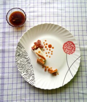 Semifreddo With Spicy Citrus Sauce - Plattershare - Recipes, Food Stories And Food Enthusiasts