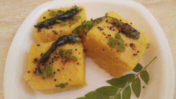 Khatta Meetha Dhokla Recipe - Plattershare - Recipes, Food Stories And Food Enthusiasts