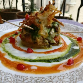Baked Honey Chaat - Plattershare - Recipes, Food Stories And Food Enthusiasts