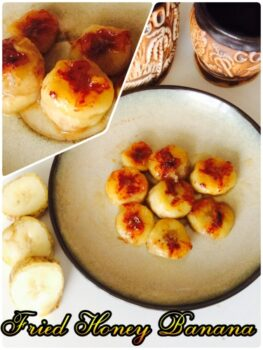 Fried Honey Banana - Plattershare - Recipes, Food Stories And Food Enthusiasts