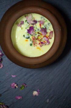 Kesar Phirni - Plattershare - Recipes, Food Stories And Food Enthusiasts