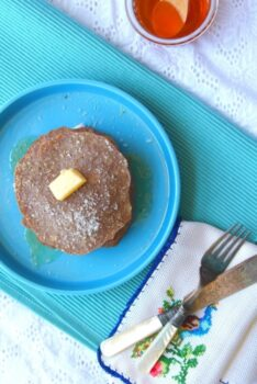Ragi~Banana Pancakes Sweetened With Honey - Plattershare - Recipes, Food Stories And Food Enthusiasts