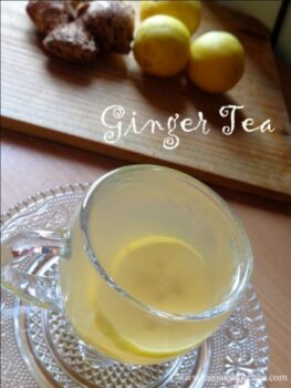 Ginger Tea - Plattershare - Recipes, Food Stories And Food Enthusiasts