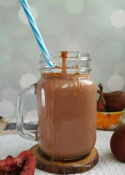 Fresh Fig Honey Smoothie - Plattershare - Recipes, Food Stories And Food Enthusiasts