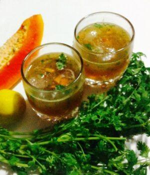 Papaya Lemonade - Plattershare - Recipes, Food Stories And Food Enthusiasts