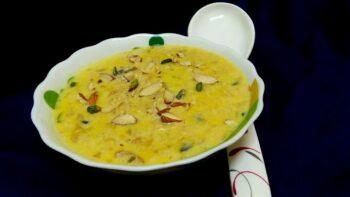Apple And Khajoor Kheer - Plattershare - Recipes, Food Stories And Food Enthusiasts